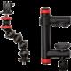 JOBY Action Clamp & GorillaPod Arm, černá/červená
