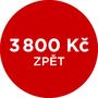 Cashback 3 800 Kč po registraci