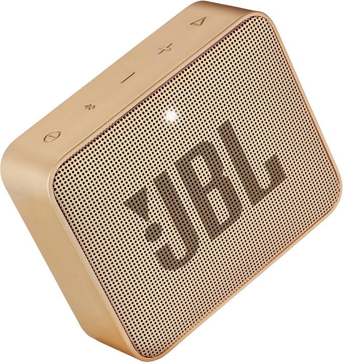 JBL GO2, champange