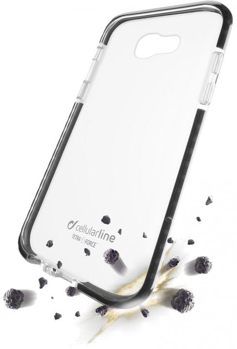 Cellularline TETRA FORCE CASE Ultra ochranné pouzdro pro Samsung Galaxy A5 (2017) , transparentní