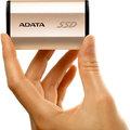 ADATA SE730 - 250GB, zlatá
