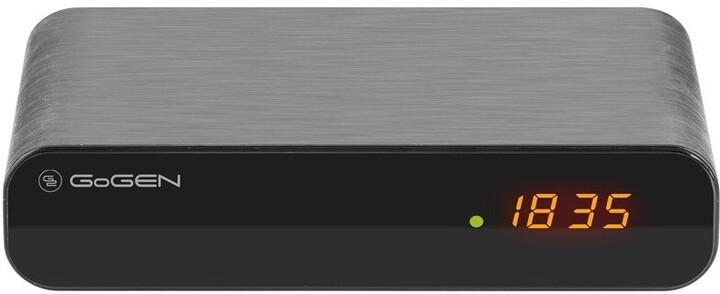 GoGEN DVB 132 T2 PVR , DVB-T2, černá