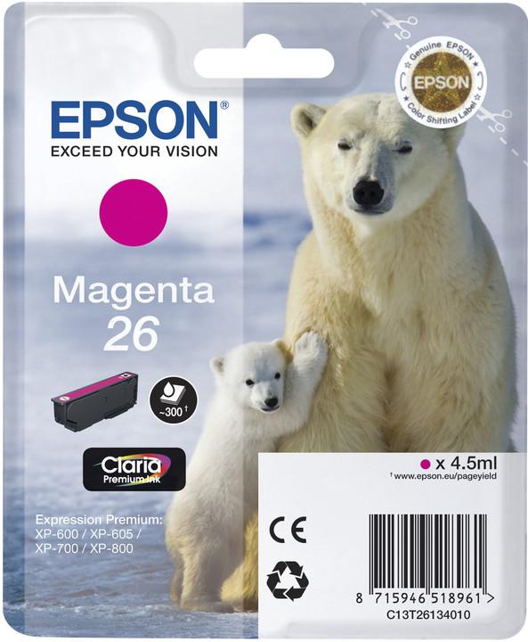 Epson C13T26134010, magenta