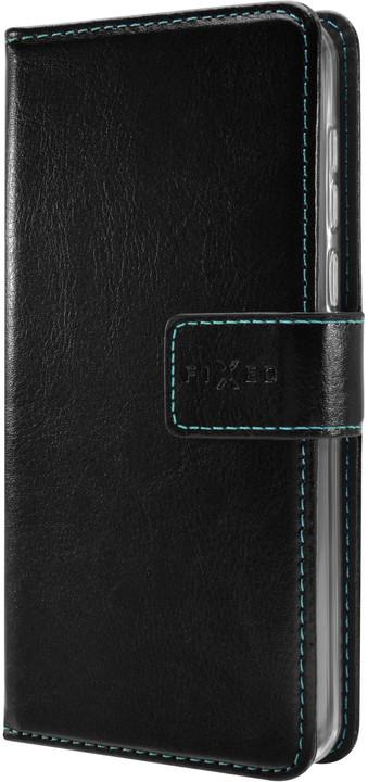 FIXED Opus pouzdro typu kniha pro Honor 10, černé