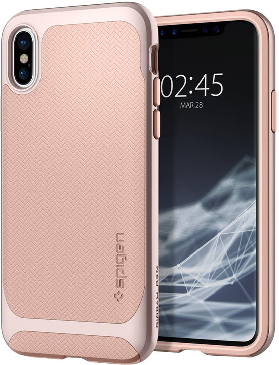 Spigen Neo Hybrid iPhone X, pale dogwood
