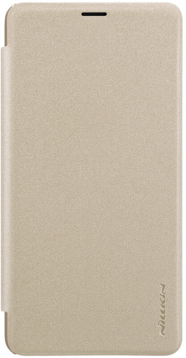 Nillkin Sparkle Folio Pouzdro pro Xiaomi Max 3, zlatý