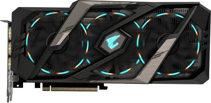 GIGABYTE AORUS GeForce RTX2080 Ti XTREME 11G, 11GB GDDR6