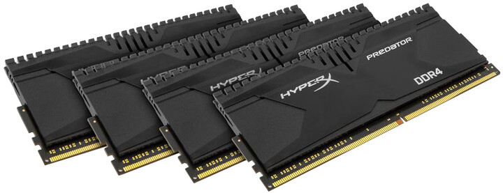 Kingston HyperX Predator 16GB (4x4GB) DDR4 2400