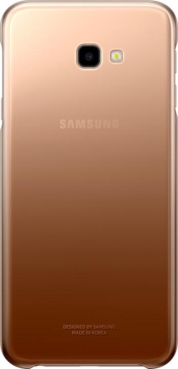 Samsung pouzdro Gradation Cover Galaxy J4+, gold