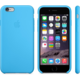 Apple Silicone Case pro iPhone 6, modrá