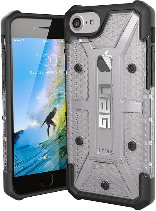 UAG plasma case Ice, clear - iPhone 8/7/6s