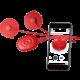 PowerDot elektrostimulátor Uno Gen 2, červená
