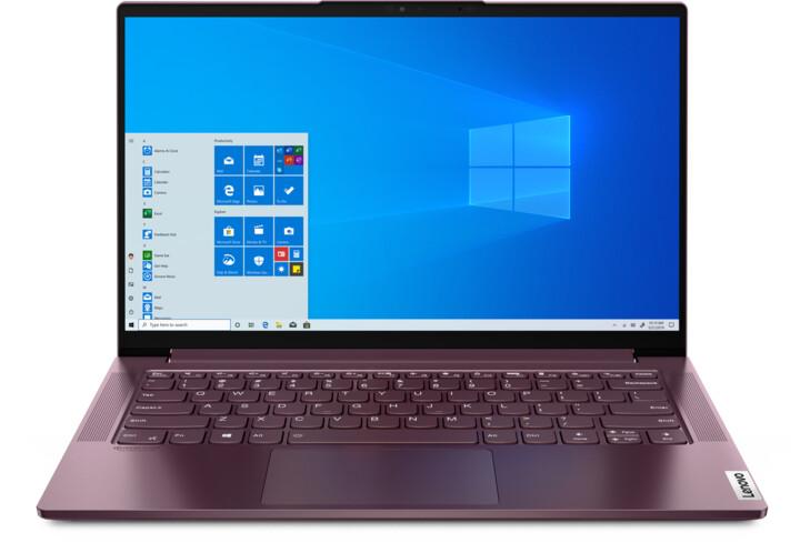 Lenovo Yoga Slim7 14ARE05, fialová