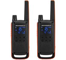 Motorola TLKR T82, oranžová/černá - B8P00811EDRMAW