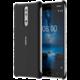 Nokia 8 Soft Touch pouzdro, černá