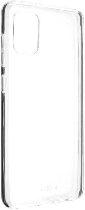FIXED ultratenké TPU gelové pouzdro Skin pro Samsung Galaxy A31, 0.6 mm, čirá