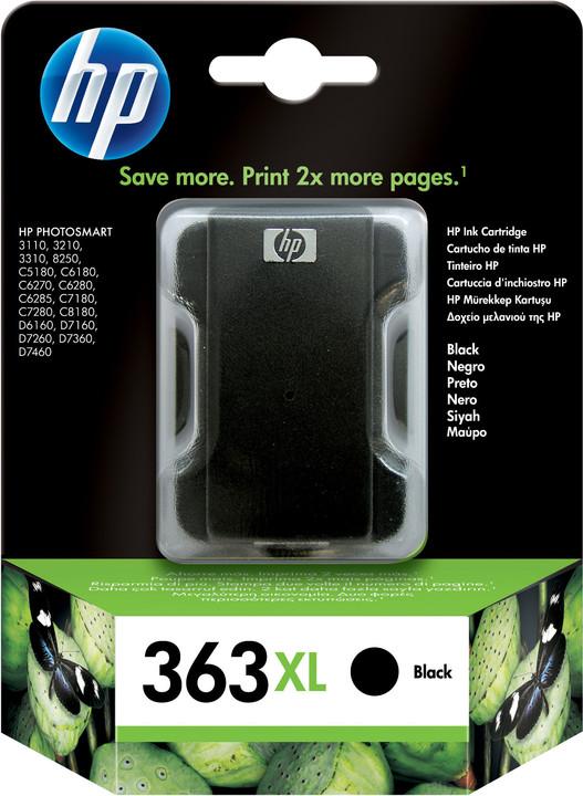 HP C8719EE, no.363, černá velká – ušetřete až 50 % oproti standardní náplni
