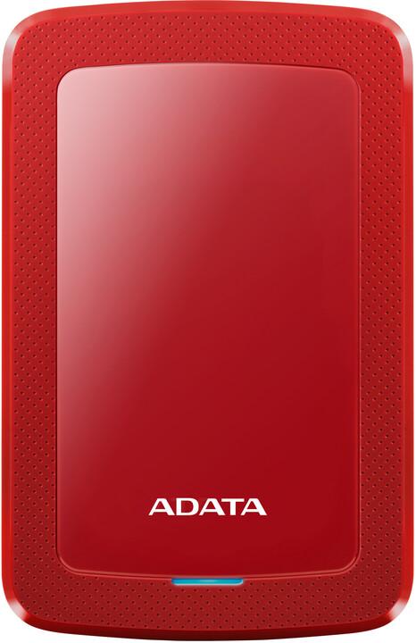 ADATA HV300 - 2TB, červená