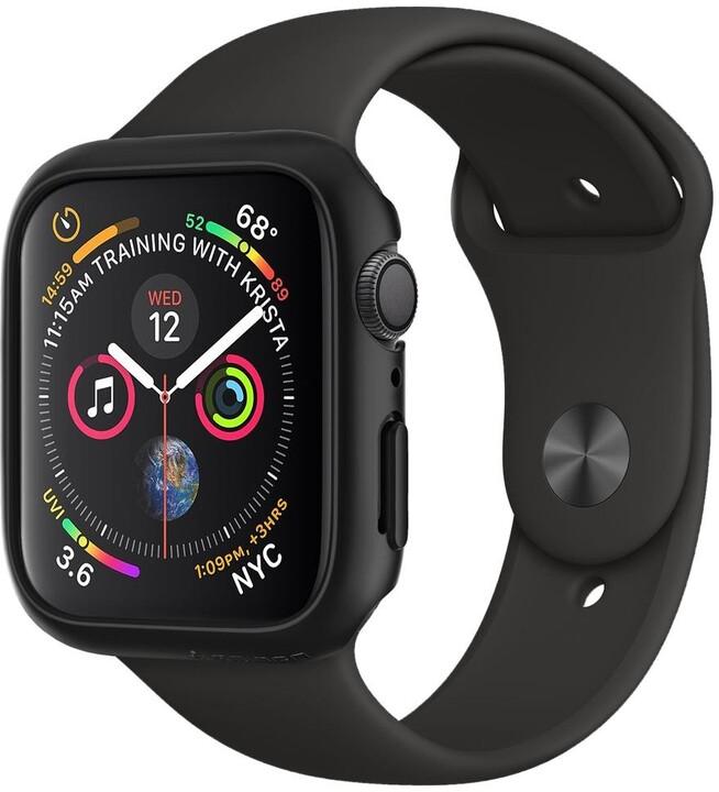 Spigen Thin Fit Apple Watch 4 44mm, černá