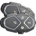 CellularLine Bluetooth handsfree pro uzavřené a otevřené přilby Interphone AVANT, Twin Pack