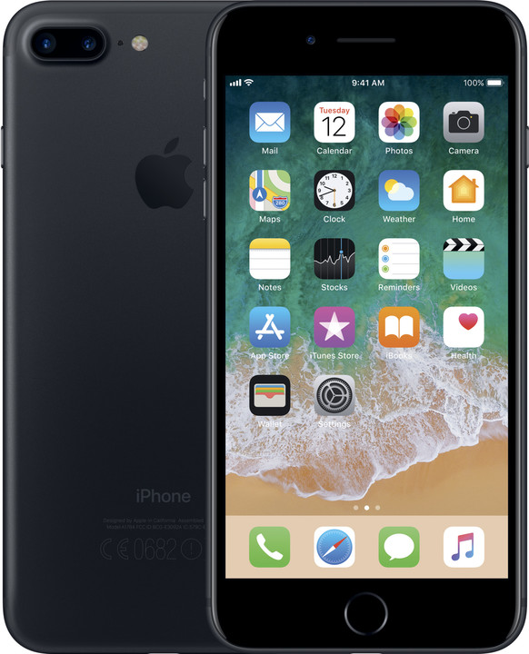 Apple iPhone 7 Plus, 32GB, černá