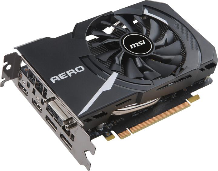 MSI GeForce GTX 1060 AERO ITX 3G OC, 3GB GDDR5