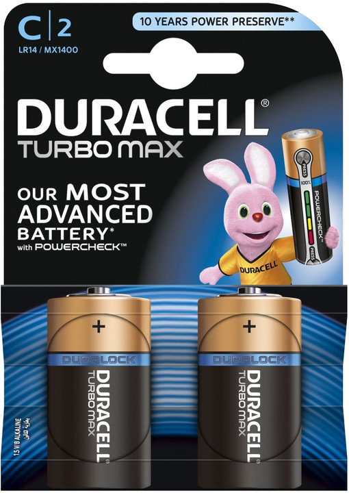 Duracell Turbo Max C, 1ks Duralock