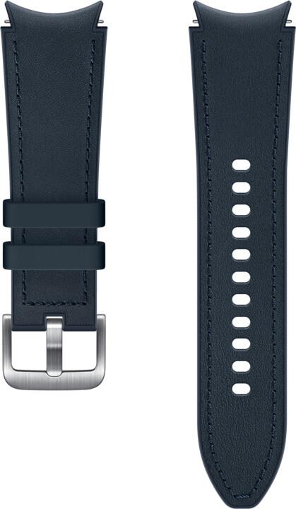 Samsung Hybridní kožený řemínek (velikost S/M), tmavě modrá