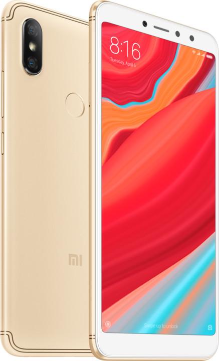 Xiaomi Redmi S2, zlatý
