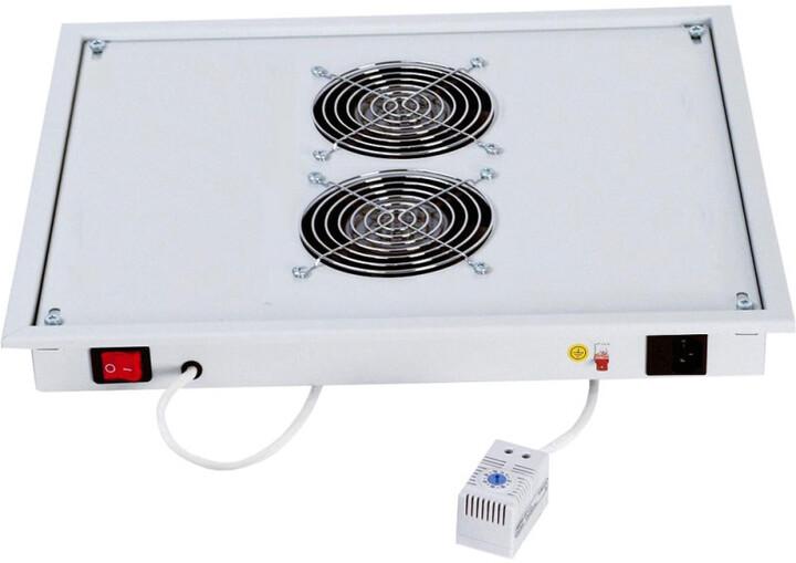 Triton ventilační jednotka RAC-CH-X03-X3, 2x ventilátor, 220V/30W, šedá