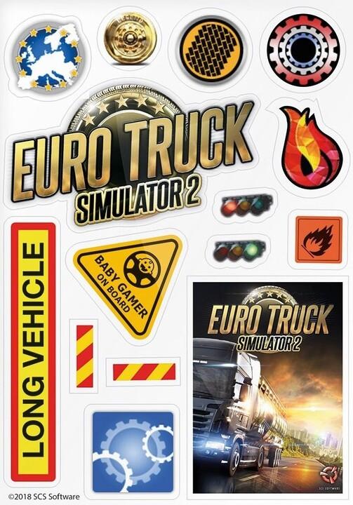 Nálepky Euro Truck Simulator
