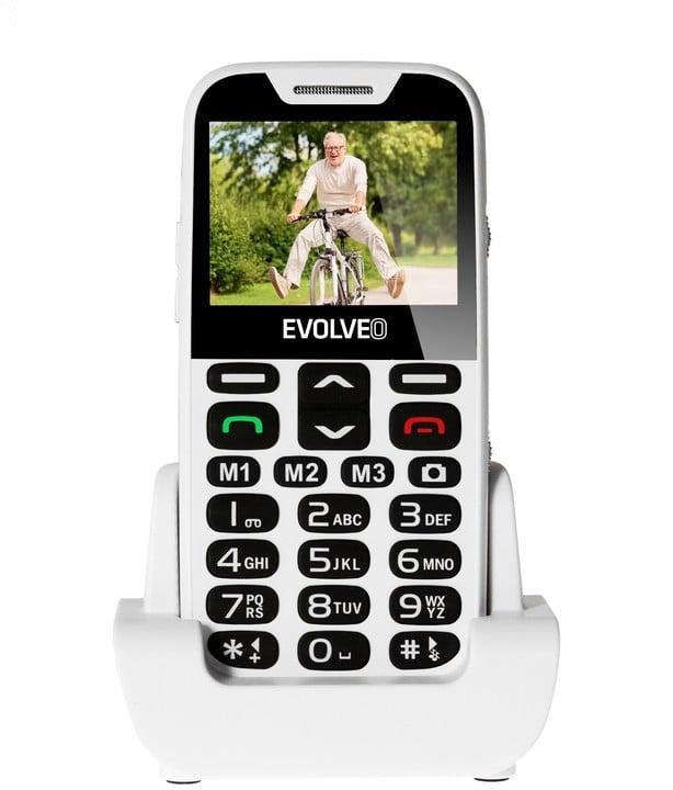 Evolveo EasyPhone XD s nabíjecím stojánkem, White