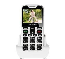 Evolveo EasyPhone XD s nabíjecím stojánkem, White - EP-600-XDW