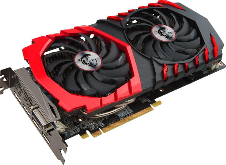 MSI Radeon RX 470 GAMING X 8G, 8GB GDDR5