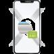 FIXED ochranné tvrzené sklo Full-Cover pro Apple iPhone 7/8/SE (2020), přes celý displej
