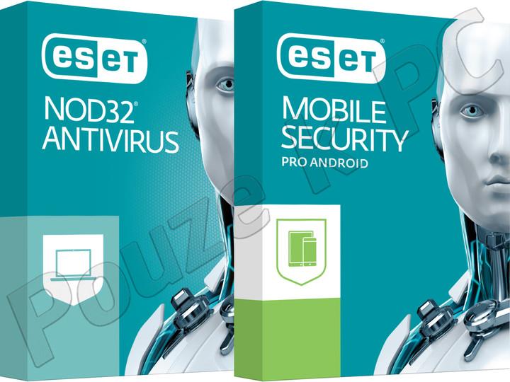 ESET NOD32 Antivirus OEM 1lic/1rok + ESET Mobile Security (Premium) 1lic/1rok