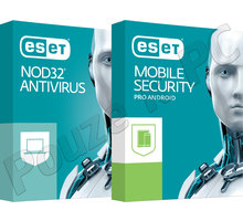 ESET NOD32 Antivirus OEM 1lic/1rok + ESET Mobile Security (Premium) 1lic/1rok