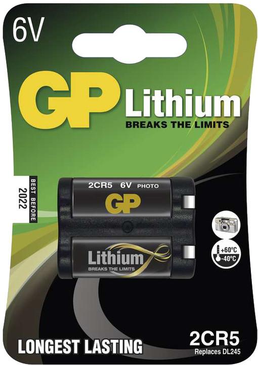GP, lithium, 2CR5, 1400mAh, 1ks