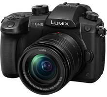 Panasonic Lumix DMC-GH5 + 12-60mm - DC-GH5MEG-K + Batoh Panasonic Lumix DMW pro PB10 v hodnotě 4 699 Kč + Panasonic Lumix 25mm f/1.7, černá v hodnotě 5 999 Kč