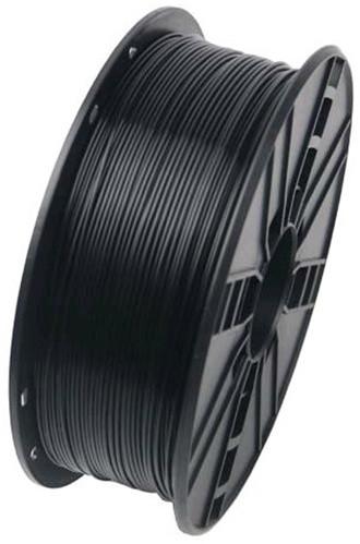 Gembird tisková struna (filament), PLA, 1,75mm, 0,6kg, černá