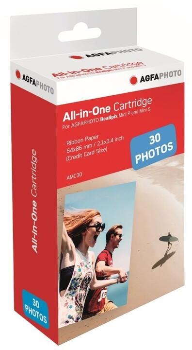 AGFA Photo AMC30, papír pro Mini S, 30ks