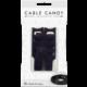 Cable Candy kabelový organizér Hook&Loop, 8ks, černá