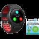 EVOLVEO SPORTWATCH M1S s podporou SIM, červenočerná  + Možnost vrácení nevhodného dárku až do půlky ledna