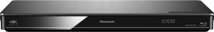 Panasonic DMP-BDT381EG, 3D, černá