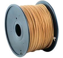 Gembird tisková struna (filament), ABS, 1,75mm, 1kg, zlatá
