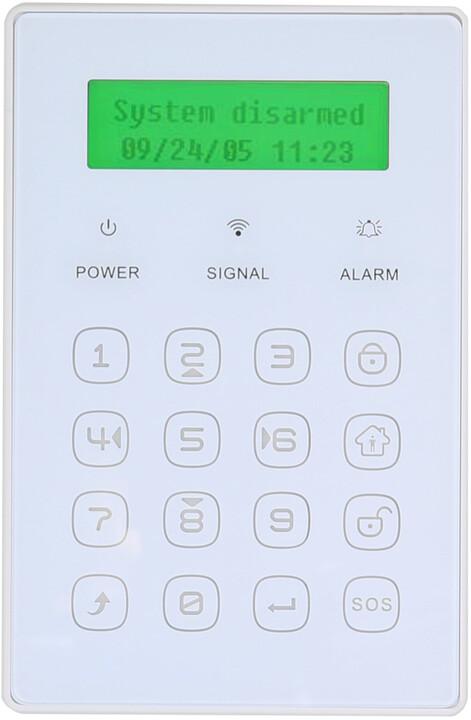 EVOLVEO bezdrátová mini klávesnice, s displejem pro Sonix/Salvarix