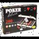 Karetní hra Albi Poker deluxe, pokerová sada, 200 žetonů, kufr