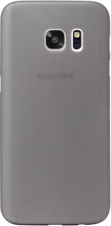 EPICO Plastový kryt ESPERIA pro Samsung Galaxy S7 ULTRATHIN MATT - černý transparentní
