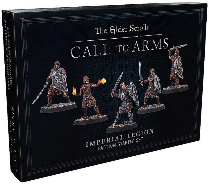 Desková hra The Elder Scrolls: Call To Arms The Imperial Legion (rozšíření)