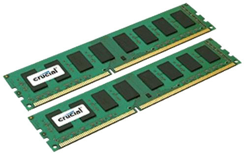 Crucial 8GB (2x4GB) DDR3L 1600 Dual Voltage